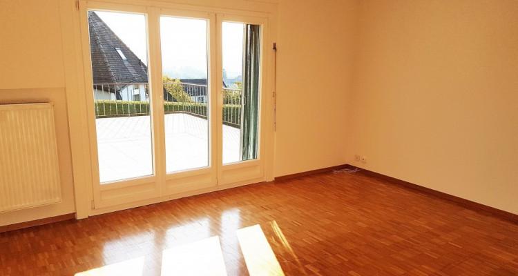 Bel appartement 3.5p / 2 chambres / Grande terrasse -Vue lac montagnes image 1