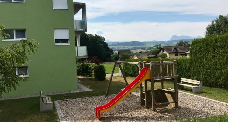 Attique de 3.5 pces grand balcon à 5 mn de Romont image 6
