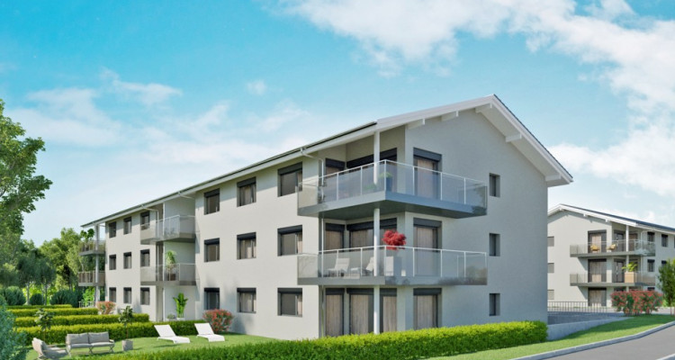HOME SERVICE vous propose un appartement de 4,5 pièces avec balcon. image 1