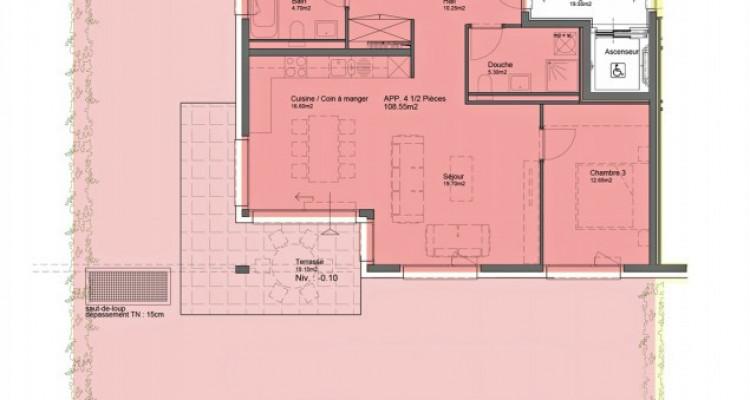 HOME SERVICE vous propose un appartement de 4,5 pièces avec jardin. image 6