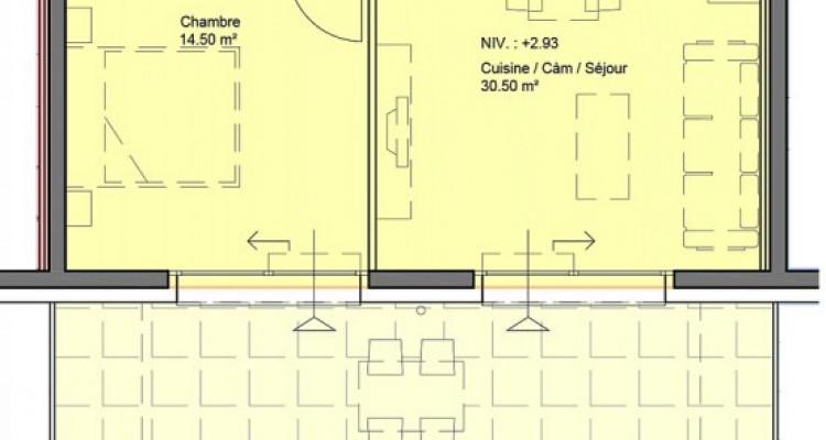 HOME SERVICE vous propose un appartement de 2.5 pièces avec terrasse. image 5