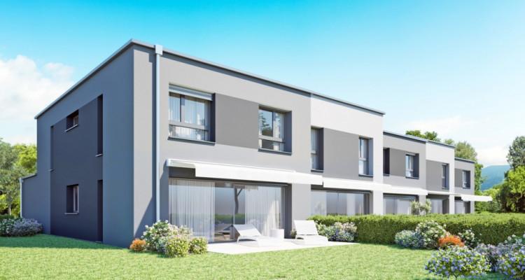 HOME SERVICE propose une villa mitoyenne de 5,5 pièces avec jardin. image 1