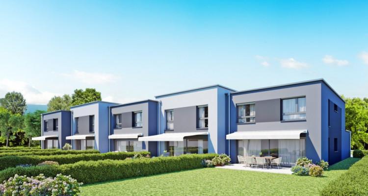 HOME SERVICE propose une villa mitoyenne de 5,5 pièces avec jardin. image 2
