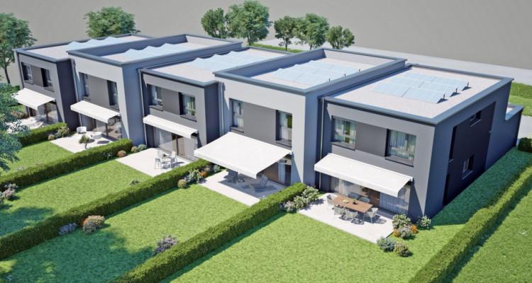 HOME SERVICE propose une villa mitoyenne de 5,5 pièces avec jardin. image 3