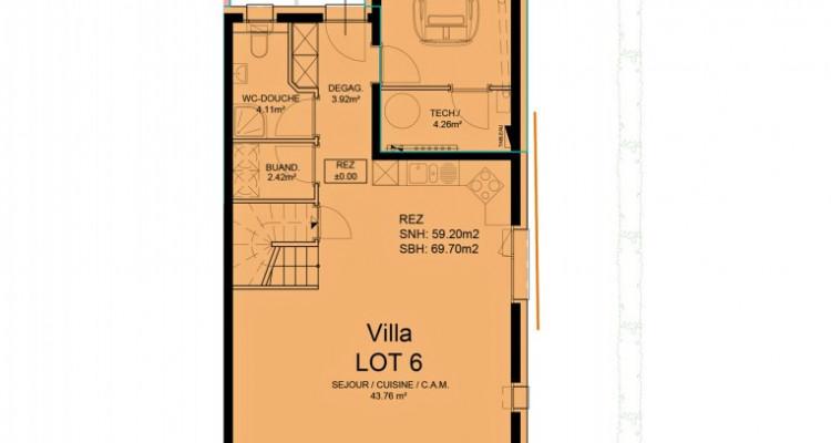 HOME SERVICE propose une villa mitoyenne de 5,5 pièces avec jardin. image 5