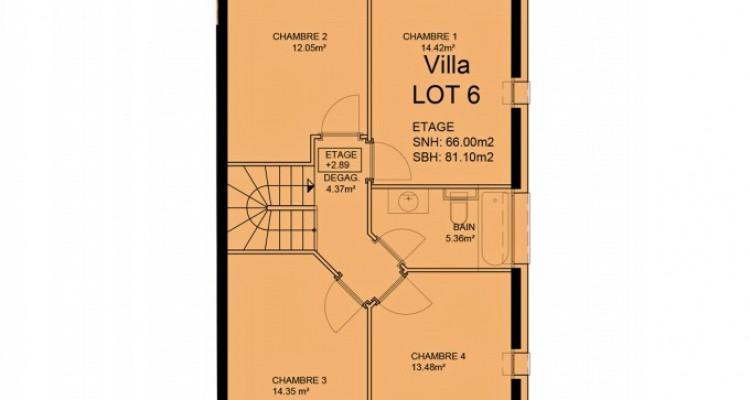 HOME SERVICE propose une villa mitoyenne de 5,5 pièces avec jardin. image 6