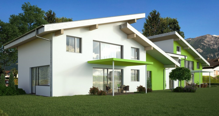 C-Immo vous propose une superbe villa jumelée à Massongex image 1