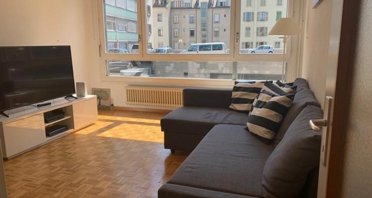 Bel appartement de 3 pièces situé dans le quartier des Eaux Vives. image 1