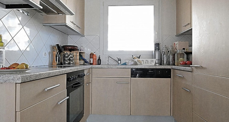 POUR 6 mois / Superbe duplex meublé 2.5 p / Balcon image 3