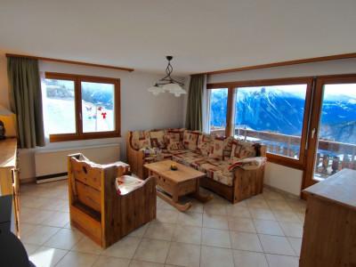 Appartement de 3,5 pièces à Albinen avec une vue à couper le souffle. Proche de Loèche les Bains et des pistes de skis  image 1