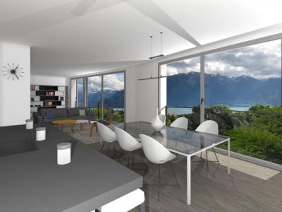 La dernière villa indépendante contemporaine, calme, vue lac. image 1