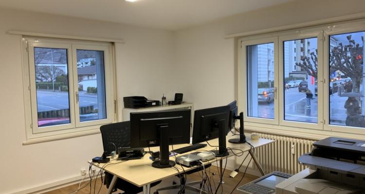 Spacieux bureaux bien situés au centre ville de Martigny image 2