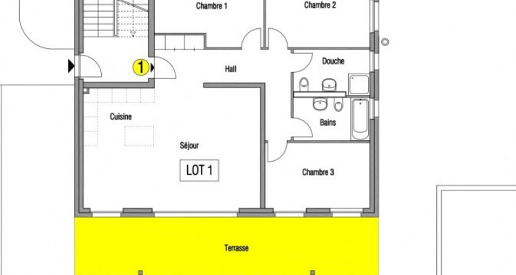 Appartements neufs avec balcon - 1er étage image 6