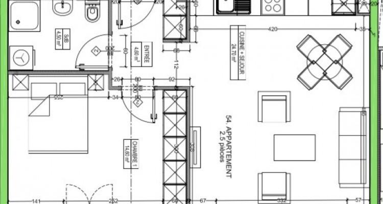 C-Service vous propose un appartement de standing de 2,5 pièces ! image 6