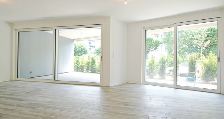 Visite 3D appart neuf 2,5 p / 1 chambre / 1 SDB / avec terrasse. image 2