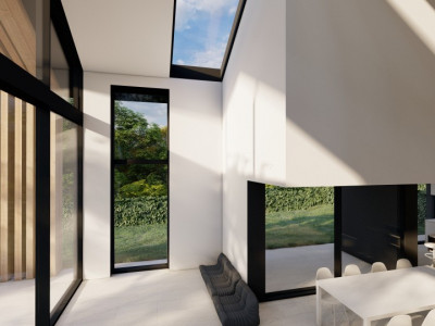 PERMIS DE CONSTRUITE OBTENU ! Villa mitoyenne à Mies  image 1