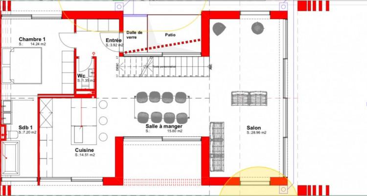 Superbe villa mitoyenne sur plan à Mies ! image 5