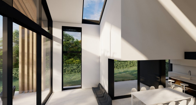 Superbe villa mitoyenne sur plan à Mies ! image 2