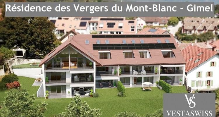 Beau duplex en attique avec vue sur le Mont-Blanc et la campagne image 2