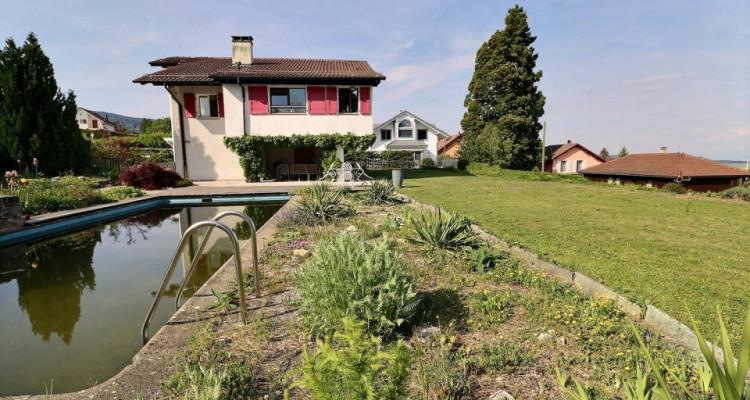 Magnifique villa-chalet de 7p// 5 chambres + bureau // Jardin image 3