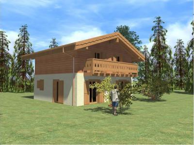 Chalet à bâtir pour votre résidence principale à la Tsoumaz image 1