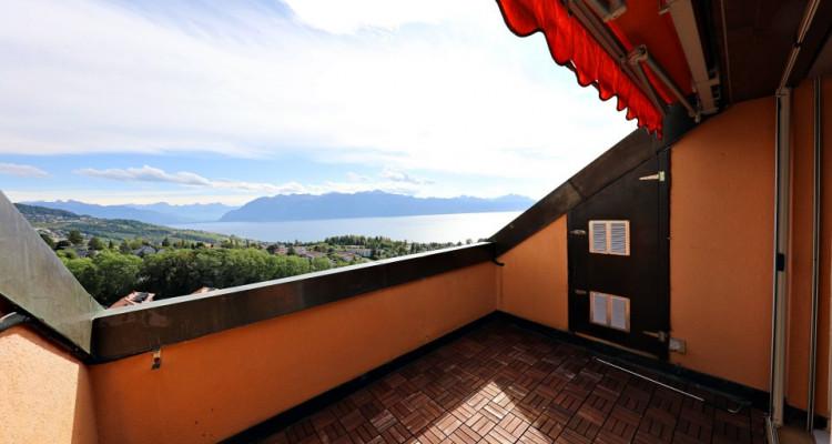 Magnifique appart 4,5 p / 2 chambres / 1 SDB / balcon avec vue lac image 6