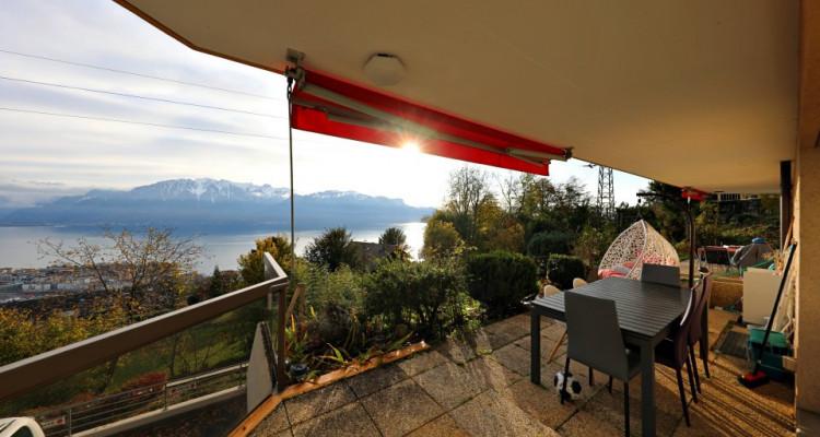 Magnifique appart 3,5 p / 2 chambres / 2 SDB / terrasse vue lac image 6