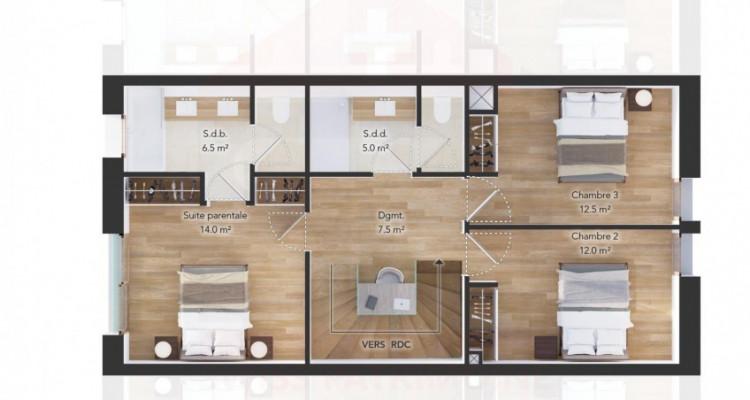 Projet  Les Villas du Port 4 Villas HPE de 6 pièces à deux pas du lac image 10