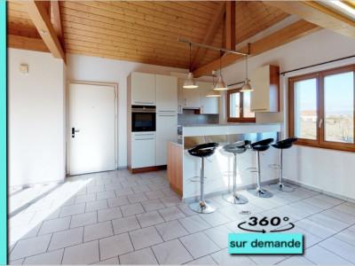 Au Centre de Saint-Aubin - spacieux attique de 120m2! image 1