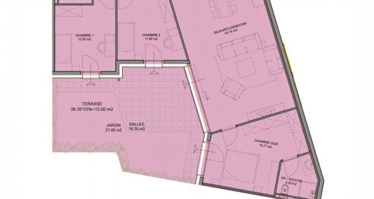 Bel appartement de 4,5 pièces avec jardin. image 5