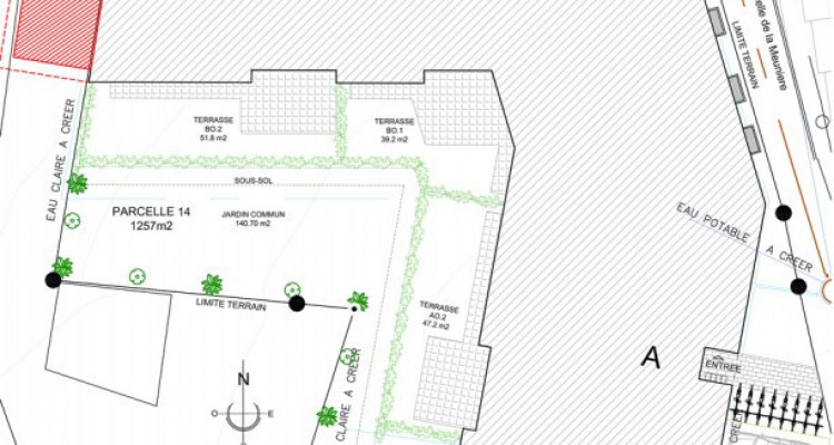 Bel appartement de 4,5 pièces avec jardin. image 7