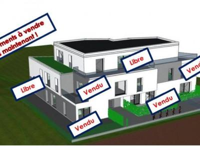Splendide appartement neuf sur plan, 1er étage, 4 pièces en PPE  image 1