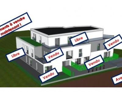 Splendide attique neuf sur plan, 5 pièces en PPE image 1