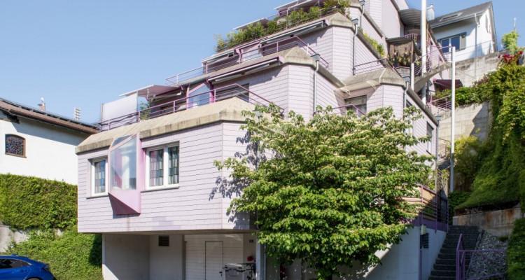 Appartement en terrasse - Spacieux avec 2 places de parc image 1