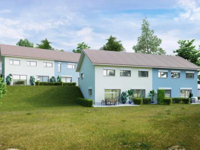 Permis de construire délivré - Nouvelle promotion de 2x2 villas contiguës à 10 minutes dOron image 1