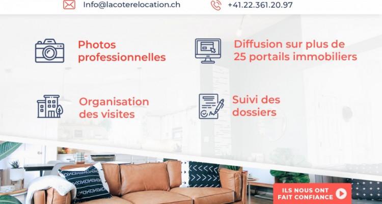 Bel appartement 3,5 p / 2 CHB / 1 SDB / terrasse vue plaine et Alpes image 7