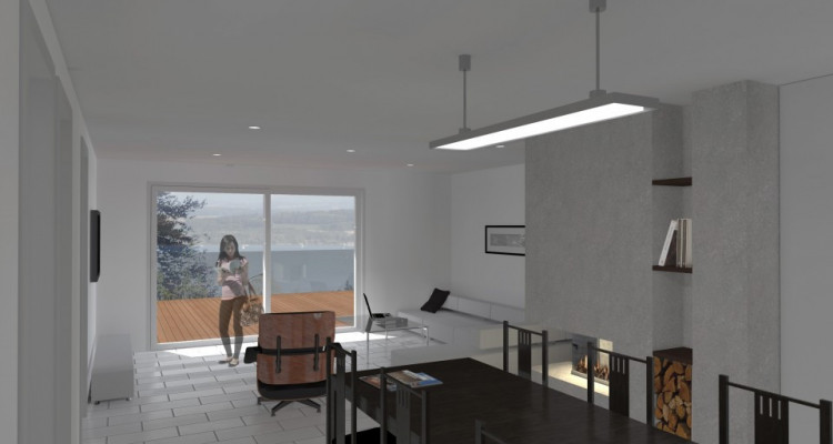 Bel appartement avec magnifique terrasse de 81 m2 avec vue sur le lac image 14