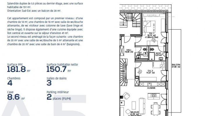 Appartements à vendre de 4.5 et 5,5 pièces à 1803 Chardonne (VD-CH) image 7
