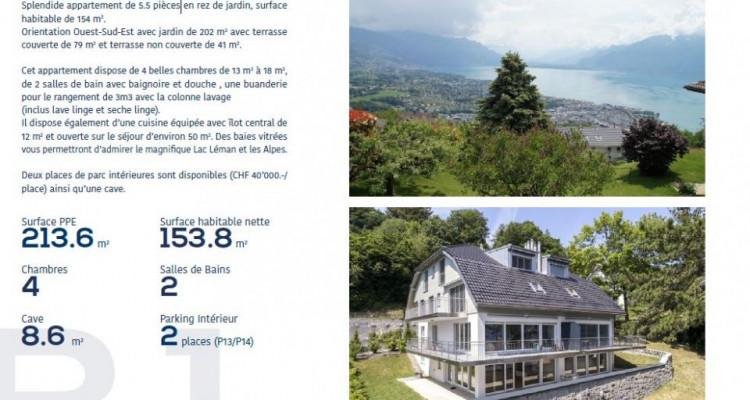 Appartements à vendre de 4.5 et 5,5 pièces à 1803 Chardonne (VD-CH) image 11