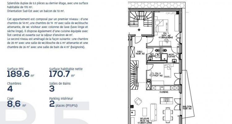 Appartements à vendre de 4.5 et 5,5 pièces à 1803 Chardonne (VD-CH) image 19