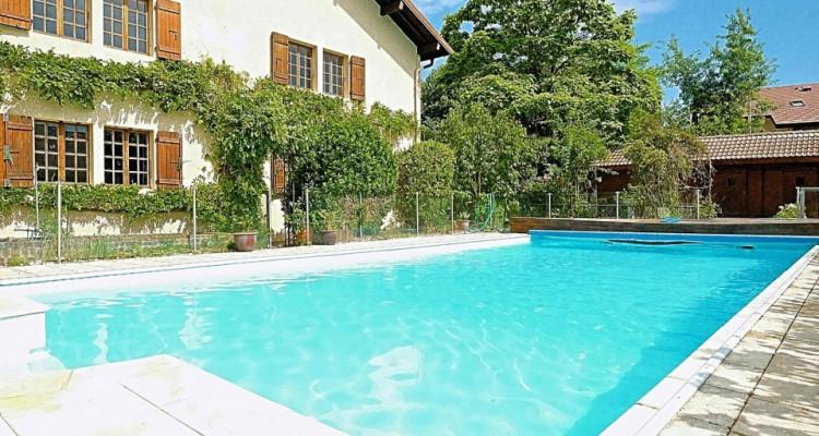 20min de GENEVE- VALLEIRY /Magnifique maison de maître/ Jardin-piscine image 1
