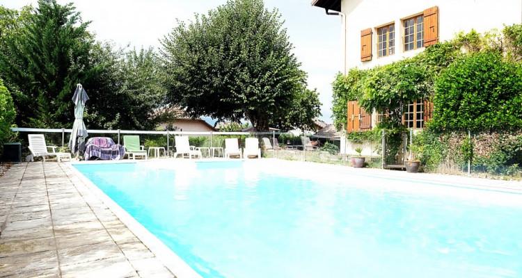 20min de GENEVE- VALLEIRY /Magnifique maison de maître/ Jardin-piscine image 2