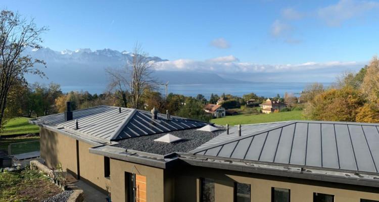 Villa contemporaine neuve dans un quartier prisé avec vue sur Lac image 3
