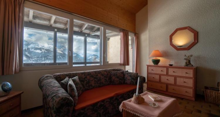 Gryon Immo vous propose un jolie 2 pièces en duplex sur la piste de ski image 3