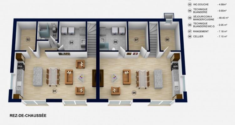 Devenez propriétaire votre villa de 5,5 pièces dès 1450.-/mois tout compris* à 10 minutes dOron-la-Ville image 3