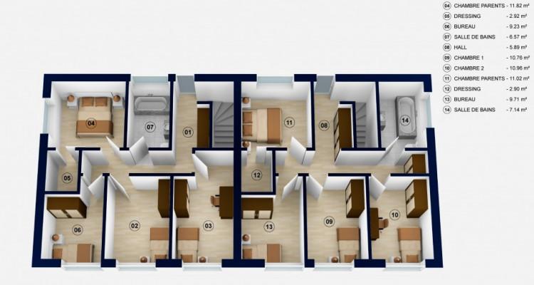 Devenez propriétaire votre villa de 5,5 pièces dès 1450.-/mois tout compris* à 10 minutes dOron-la-Ville image 4
