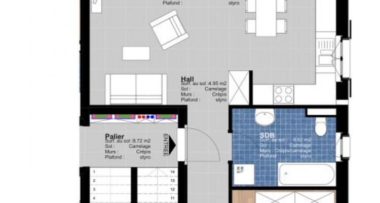 Appartement de 3.5 pièces avec jardin. image 3