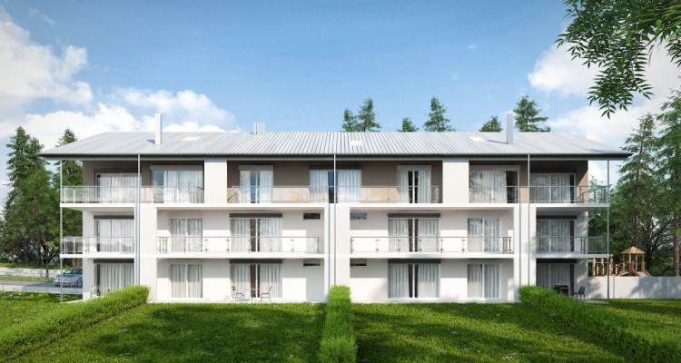 Appartement neuf de 4,5 pièces avec jardin. image 2