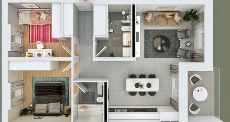 FOTI IMMO - Appartement de 3,5 pièces avec balcon. image 6