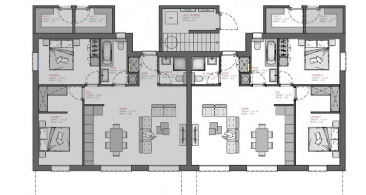EXCLUSIF ! Appartement 3,5 pièces sur plan bien situé à Fully image 4